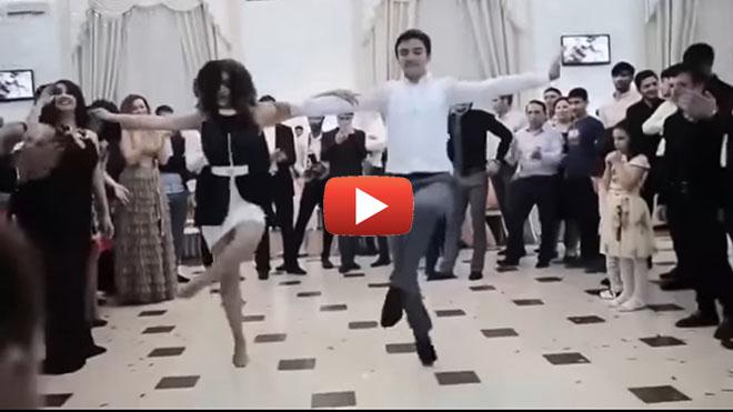 Танец Терекеме… Азербайджанцы просто убили интернет этим танцем…