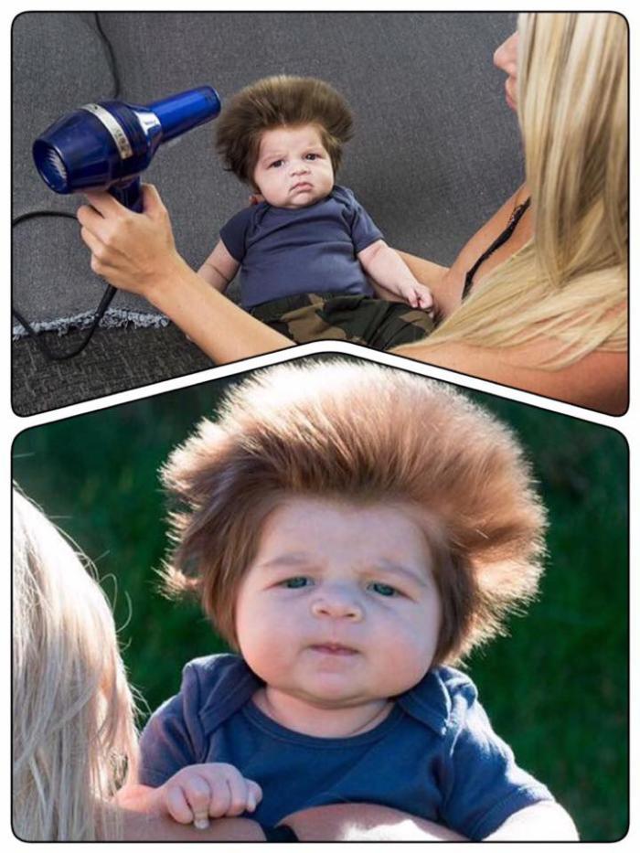 сын хочет длинные волосы