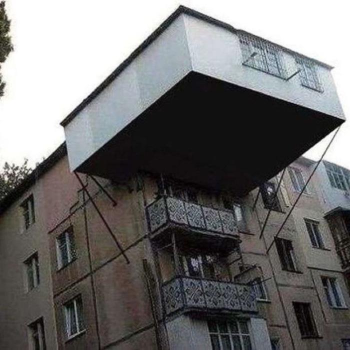 Balcoanele din Rusia sunt unice!! Galerie foto!