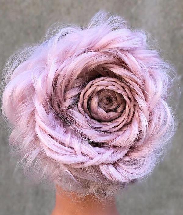 Плетёная роза - самая горячая причёска весны! Ею все одержимы, но вот как сделать